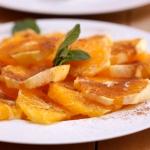 Salade d'Oranges au Miel et à la Canelle