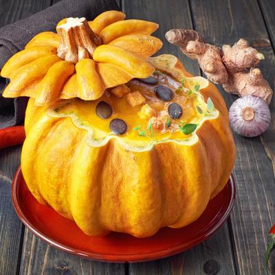 Recette soupe à la Citrouille Halloween